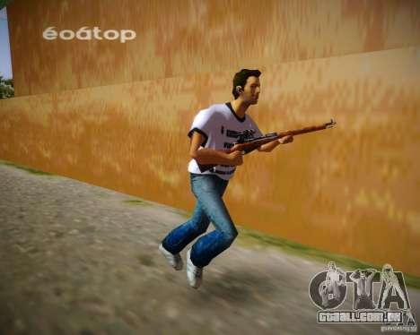 Mosin-Nagant para GTA Vice City segunda tela