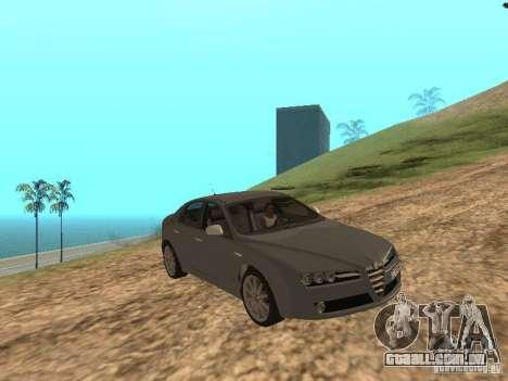 Alfa Romeo 159Ti para GTA San Andreas vista interior