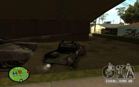 DATSUN 620 para GTA San Andreas traseira esquerda vista