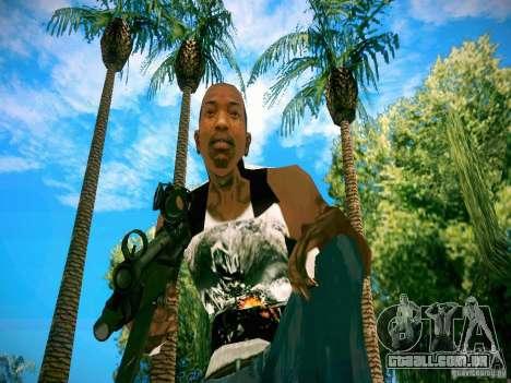 Armas Pack HD para GTA San Andreas oitavo tela