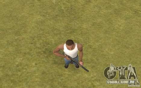 Máquina especial do eixo para GTA San Andreas quinto tela