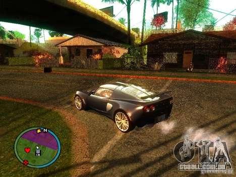 Lotus Exige - Stock para GTA San Andreas vista direita