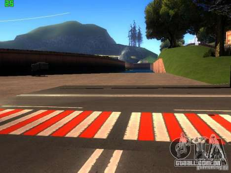 Roads Moscow para GTA San Andreas quinto tela