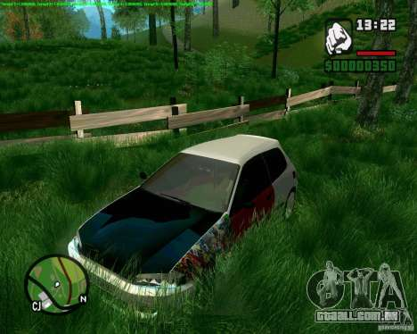 Honda Civic Hellaflush para GTA San Andreas
