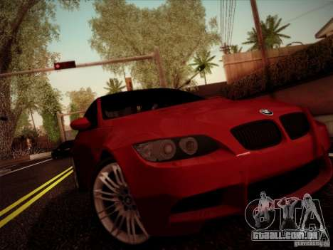 BMW E92 v2 Updated para GTA San Andreas esquerda vista