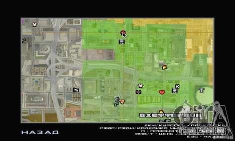 Loja ADIDAS para GTA San Andreas por diante tela