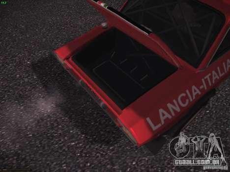 Lancia Fulvia Rally para vista lateral GTA San Andreas