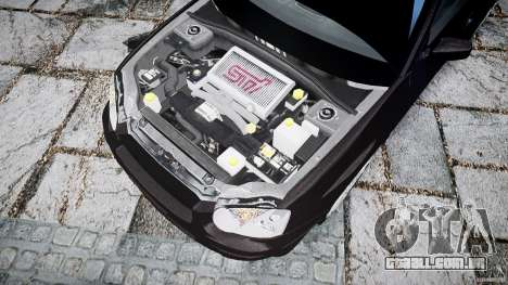 Subaru Impreza v2 para GTA 4 vista de volta