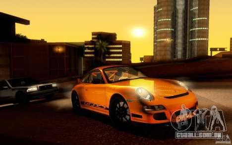 Porsche 911 GT3 RS para GTA San Andreas esquerda vista