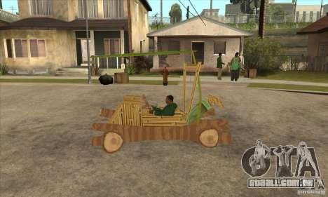New Police Madagascar para GTA San Andreas esquerda vista