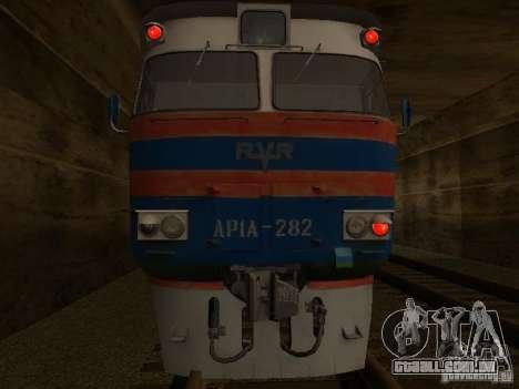 Dr1a-282 para GTA San Andreas traseira esquerda vista