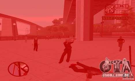 Reencarnação em um morador da cidade para GTA San Andreas segunda tela