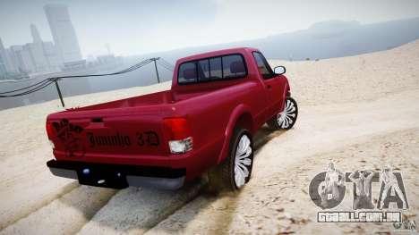 Ford Ranger para GTA 4 traseira esquerda vista