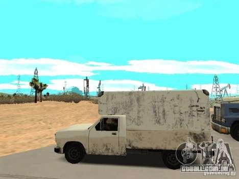 New Benson para GTA San Andreas esquerda vista