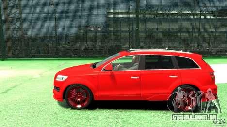 Audi Q7 v12 TDI para GTA 4 esquerda vista