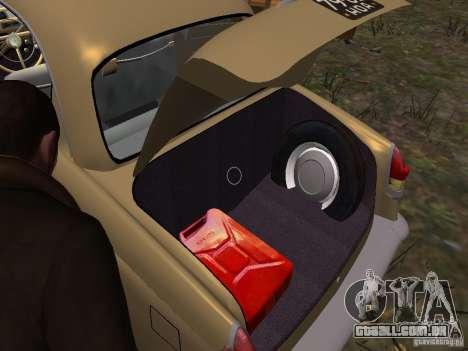 GÁS-21r para GTA 4 rodas