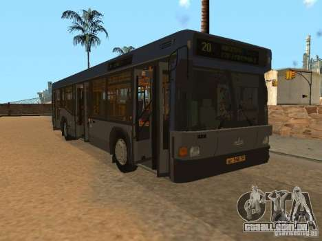 MAZ 103 para vista lateral GTA San Andreas