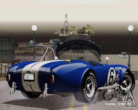 Optix ENBSeries para PC médias para GTA San Andreas por diante tela