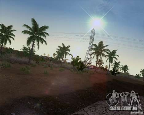 HQ Country N2 Desert para GTA San Andreas terceira tela