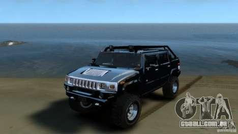 Hummer H2 4x4 OffRoad para GTA 4