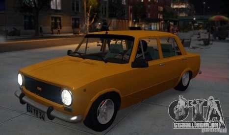 Fiat 124 para GTA 4 vista de volta