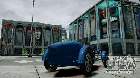 Bugatti Type 35C para GTA 4 traseira esquerda vista