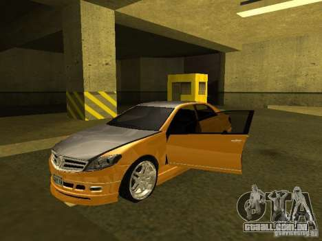 GTAIV Schafter Modded para GTA San Andreas
