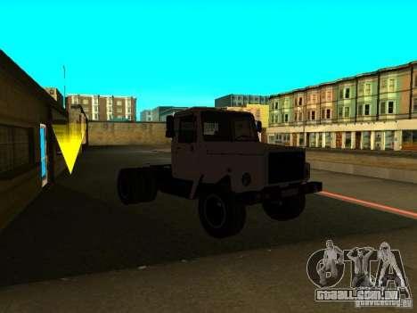 Trator de GAZ 3309 para GTA San Andreas vista direita