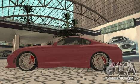 Toyota Supra Tunable 2 para GTA San Andreas vista direita