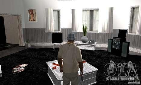 Novas texturas interiores para casas seguras para GTA San Andreas