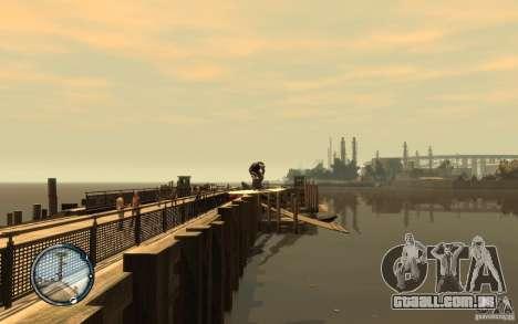 Prancha de surf para GTA 4 vista de volta