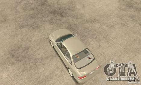 Honda Civic 1998 para GTA San Andreas traseira esquerda vista