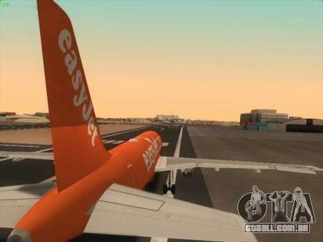 Airbus A320-214 EasyJet 200th Plane para o motor de GTA San Andreas