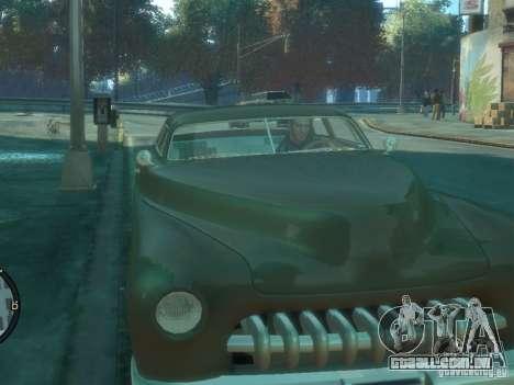 Hermes HD para GTA 4 traseira esquerda vista