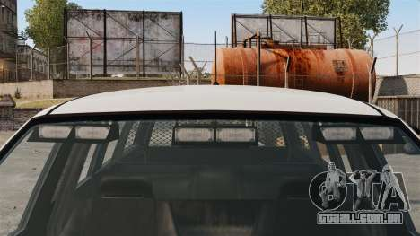 Polícia Landstalker ELS para GTA 4 vista de volta