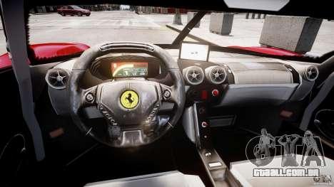 Ferrari FXX para GTA 4 vista direita