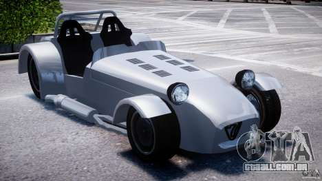 Caterham Super Seven para GTA 4 vista direita