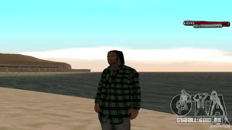 New skin Grove HD para GTA San Andreas terceira tela