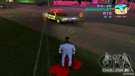 O fluxo do sangue para GTA Vice City