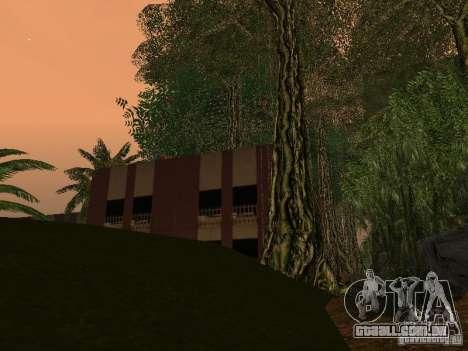 O mistério das ilhas tropicais para GTA San Andreas sétima tela