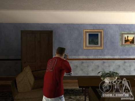 AK HD para GTA San Andreas por diante tela