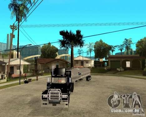 Rubber Duck Mack para GTA San Andreas vista traseira