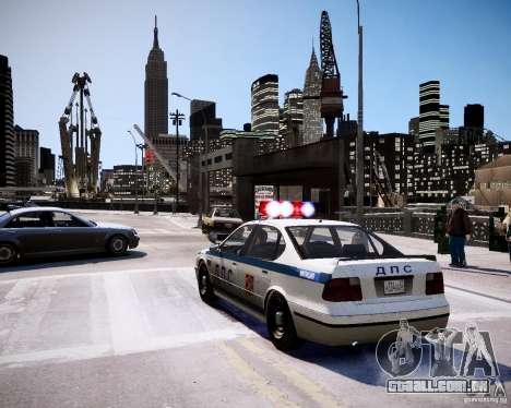 Russian Police Patrol para GTA 4 traseira esquerda vista