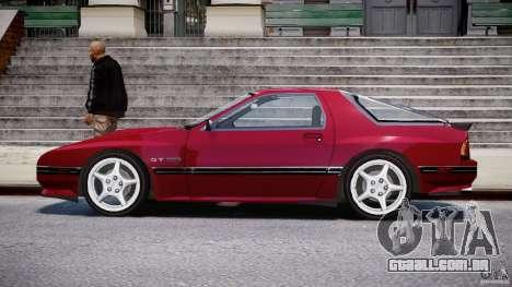 Mazda RX7 FC3S v2 FINAL para GTA 4 esquerda vista