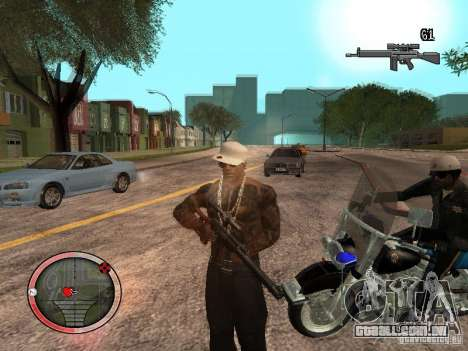GTA IV HUD Final para GTA San Andreas terceira tela