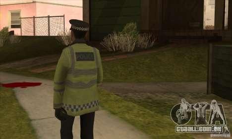 Uma nova polícia para GTA San Andreas terceira tela