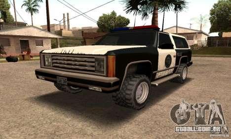 Pisca-piscas luminosos para GTA San Andreas por diante tela