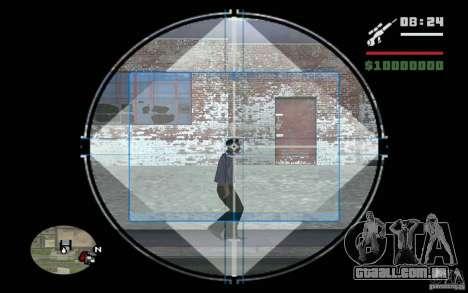 Sniper mod v. 2 para GTA San Andreas terceira tela