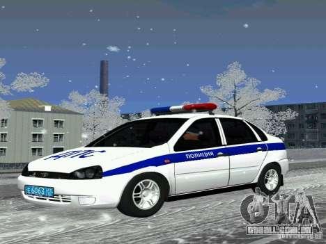 DPS VAZ 1118 para GTA San Andreas