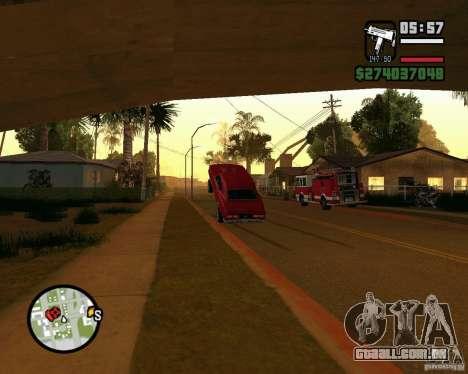 Dragger para GTA San Andreas segunda tela